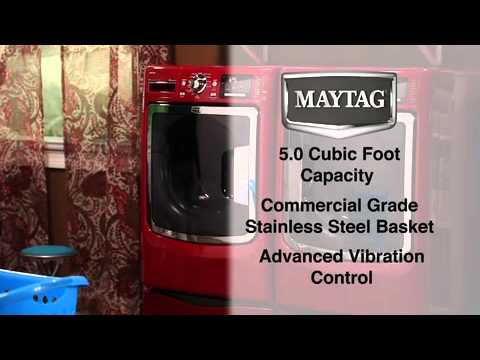 Maytag Maxima Washer and Dryer Commercial