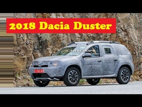 2018 dacia duster spied the all new second gen model. Black Bedroom Furniture Sets. Home Design Ideas