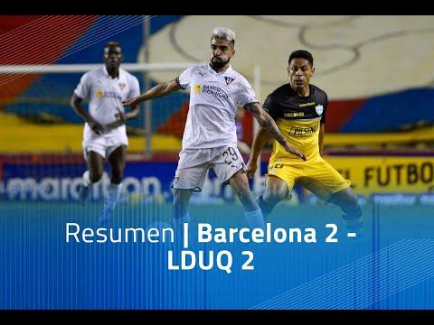Barcelona SC LDU Quito Goals And Highlights