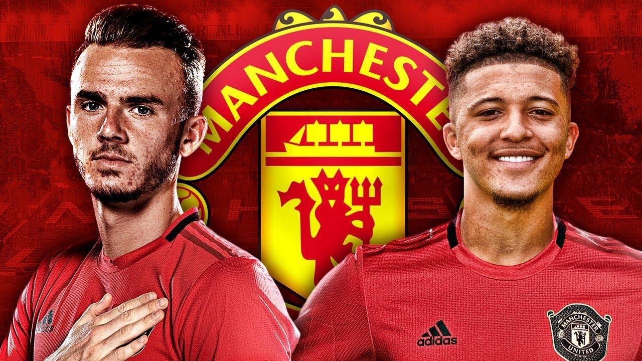 Manchester United Target Jadon Sancho & James Maddison Transfers ...