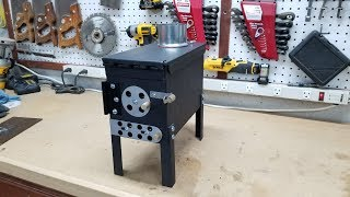 Make Your Own Ammo Can Stove
