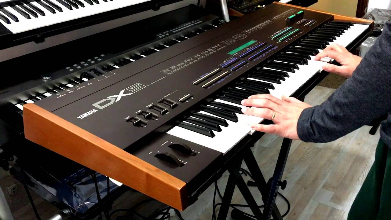 Watch A Demo Video Of The Rare Yamaha DX5 In Action