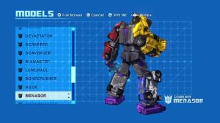 TRANSFORMERS: DEVASTATION - EVERY CHARACTER MODEL & TRANSFORMATION
