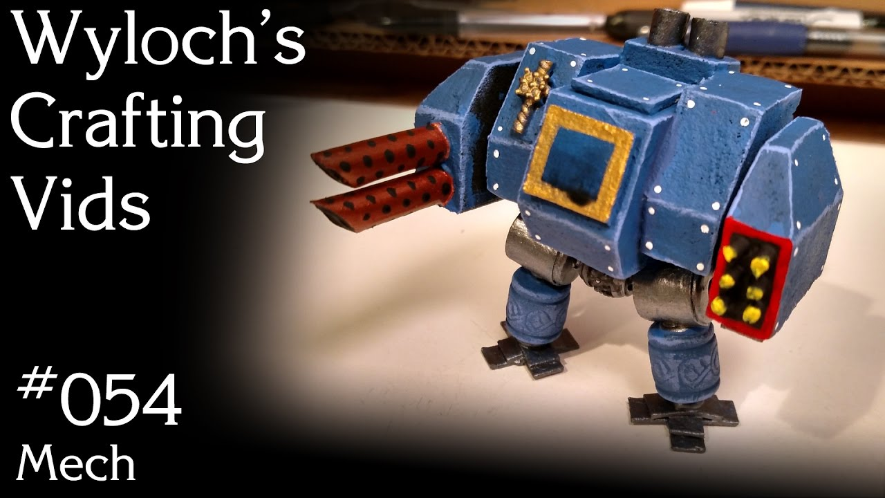 How to Make a Dreadnought Proxy for Poorhammer 40k (WCV 054)