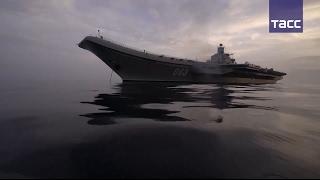Перший бойовий похід авіаносця ''Адмірал Кузнєцов''