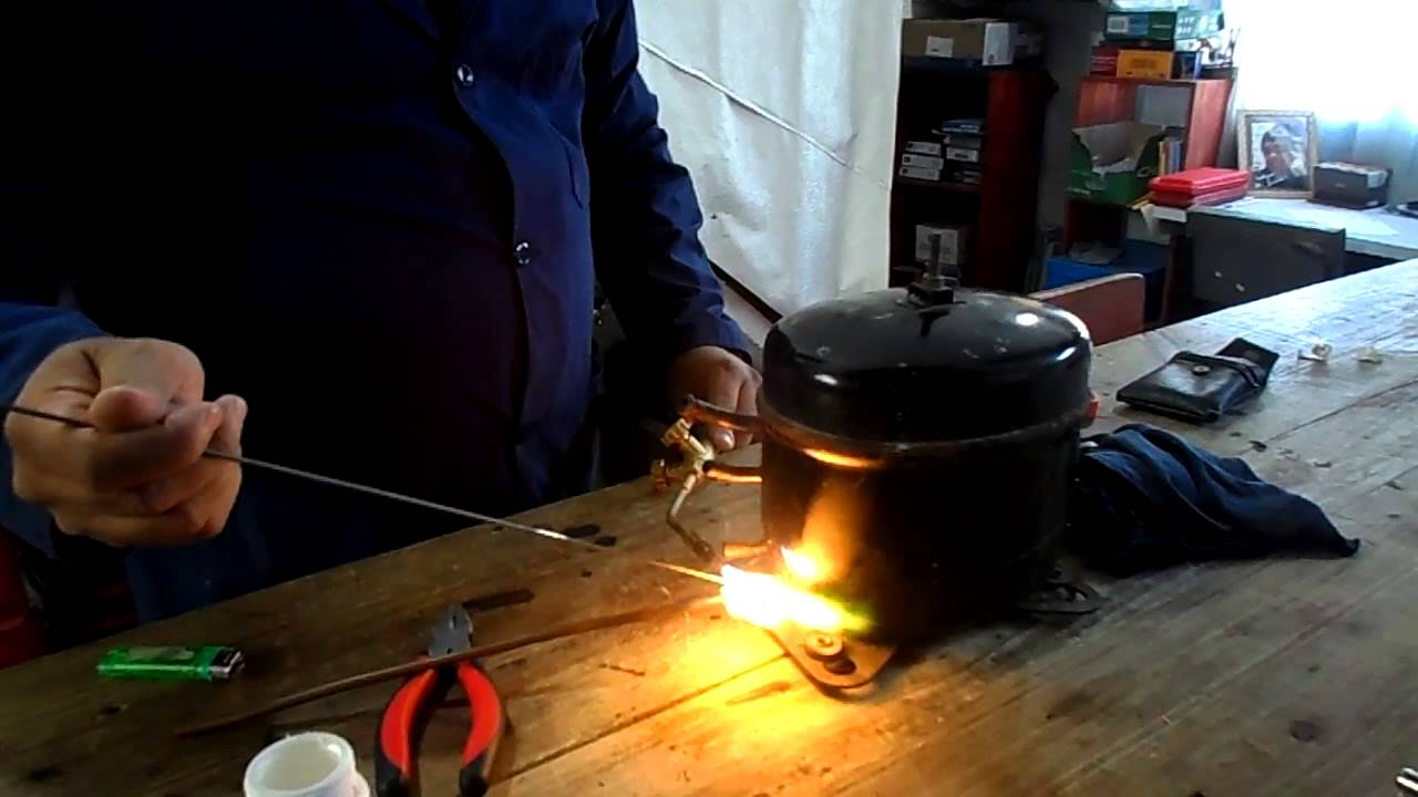 Heladeras como soldar hierro y cobre en un compresor nuevo for Como soldar cobre