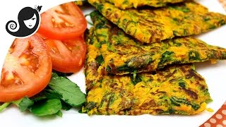 Savory Vegetable Pancakes (Vegan/Vegetarian + Gluten-free + Eggless)