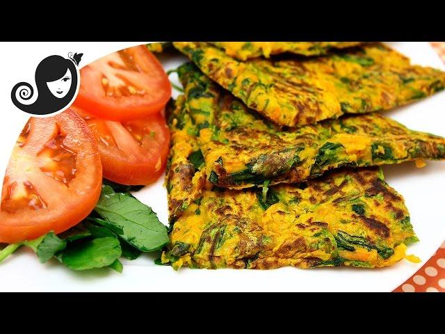 Savory Vegetable Pancakes (Vegan/Vegetarian + Gluten-free + Eggless)