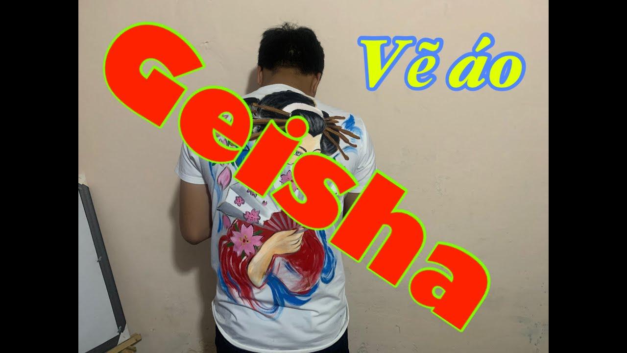 Vẽ áo nhân vật GEISHA Nhật Bản (Video Kéo Giờ) [Mỹ Thuật Nay]