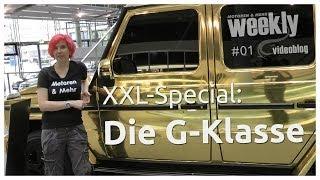 Das große G-Klasse Special - Mercedes Adventskalender - weekly Videoblog #1