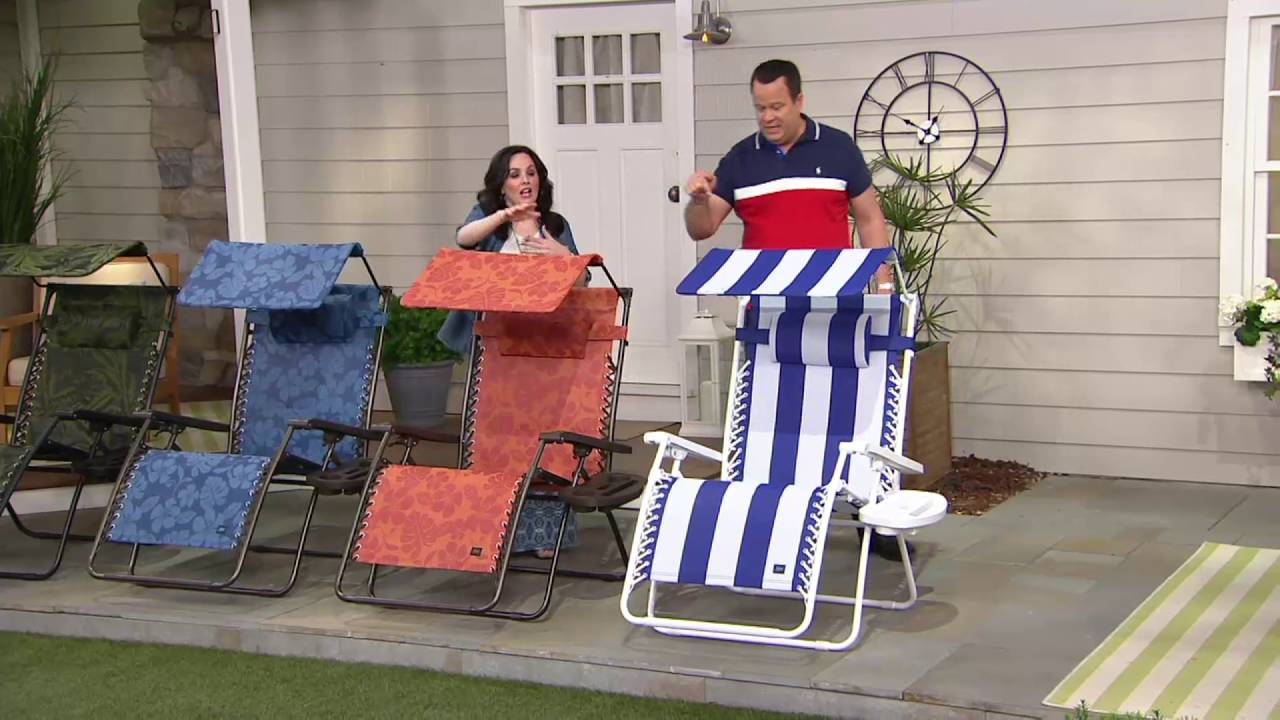 bliss hammocks deluxe xxl gravity free recliner w canopy  u0026 tray on qvc bliss hammocks deluxe xxl gravity free recliner w canopy  u0026 tray on      rh   youtube