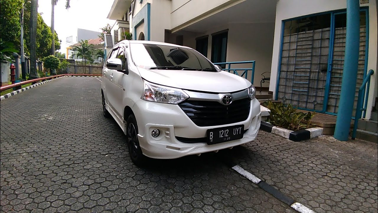 Toyota Grand New Avanza 13 E M T Start Up Review Indonesia YouTube