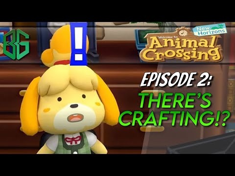 So there's crafting AND gathering!? EVOLUTION FOR THE AGES! || Animal Crossing New Horizons