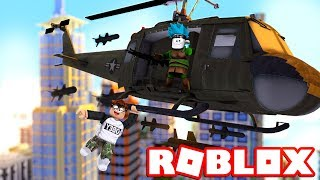 FUGA with THE ELICOTTERO from THE PRISON on Roblox (Jailbreak ITA)