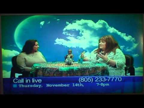 Let Us...Connect TV show - Santa Barbara, CA 11 14 13 - Guest: Darshini In Spirit