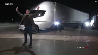 Tesla Semi truck and Roadster Insane 0-60 in 1.9 sec Event Supercut