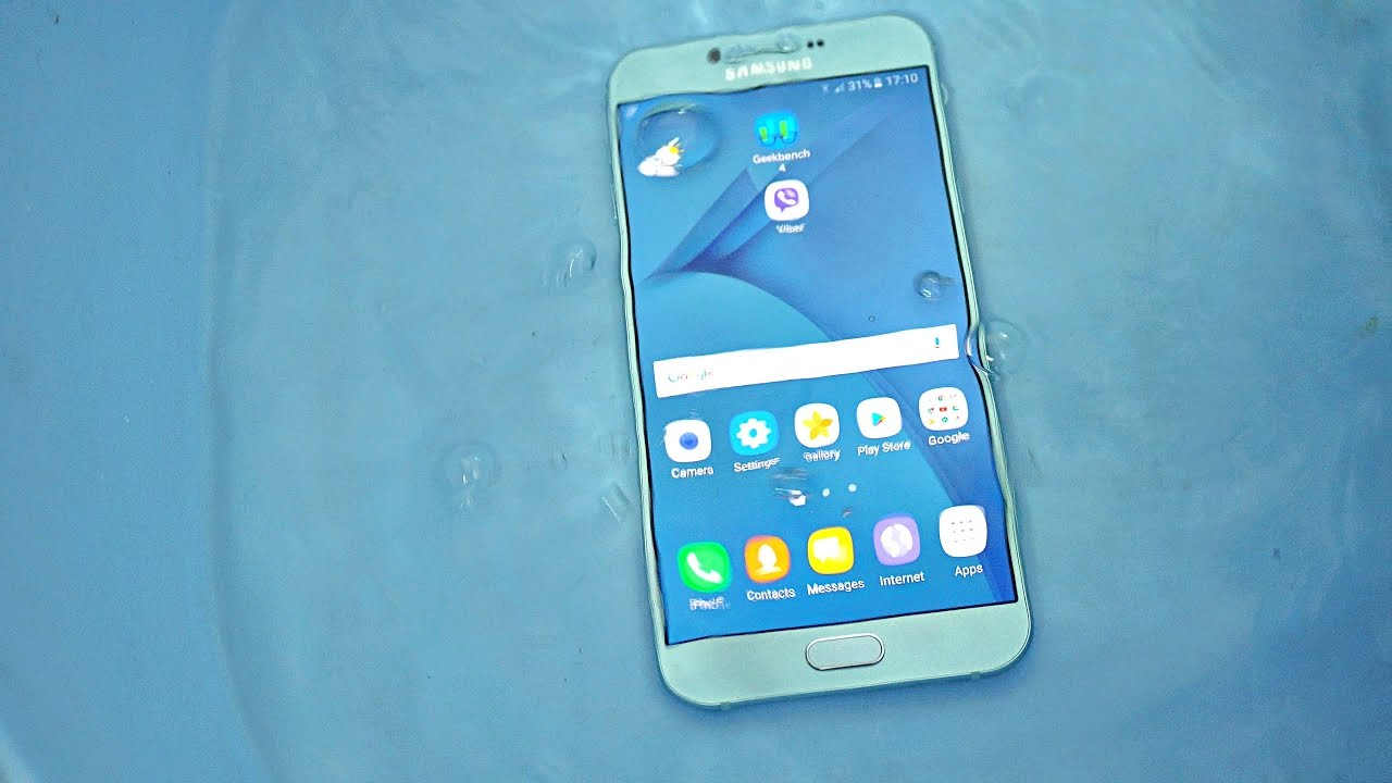 size 40 4461e 52a8c Samsung Galaxy A8 (2016) - Water Test - Will it Survive?! (4K)