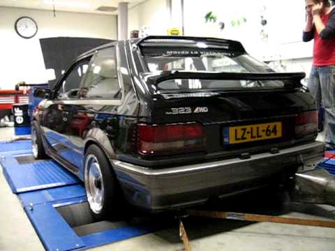 dyno mazda 323 turbo 4wd part2 youtube. Black Bedroom Furniture Sets. Home Design Ideas