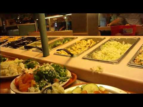 july 6 2011 sweet tomatoes salad bar buffet youtube. Black Bedroom Furniture Sets. Home Design Ideas