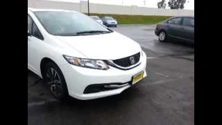 2013 HONDA CIVIC EX SEDAN DEMO VIDEO
