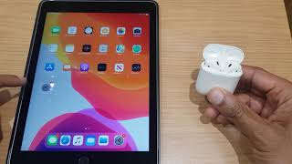 Connect Airpods to iPad How To