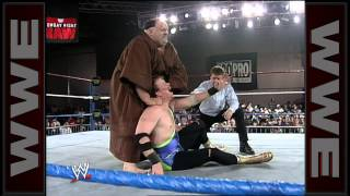 Friar Ferguson makes his WWE debut: Raw, April 12, 1993