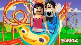 Roblox-WENT to the AMUSEMENT PARK with my mother (Vision Park) | Sophie Games