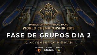 Ao vivo agora: Campeonato Mundial de MLBB 2019 2º Dia Grupo Fase B