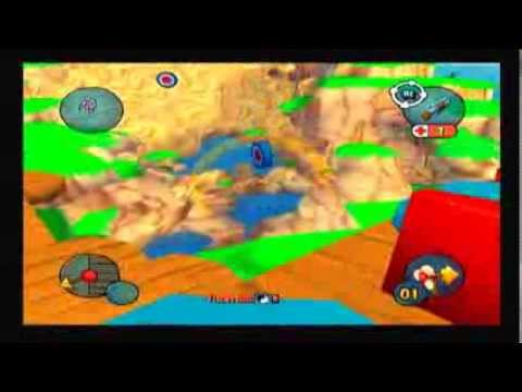 Worms 3d Ps2 Gameplay Youtube