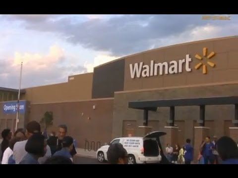 The Pullman Wal-Mart Opening September 11, 2013 - YouTube