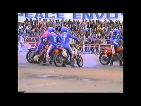 European Championship Motoball 1992 Russia Moscow