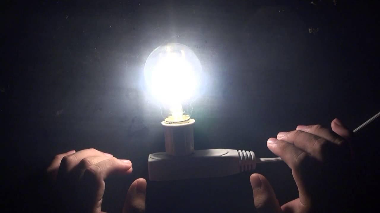Leadleds E27 LED Filament Light Bulb Nostalgic Edison ...