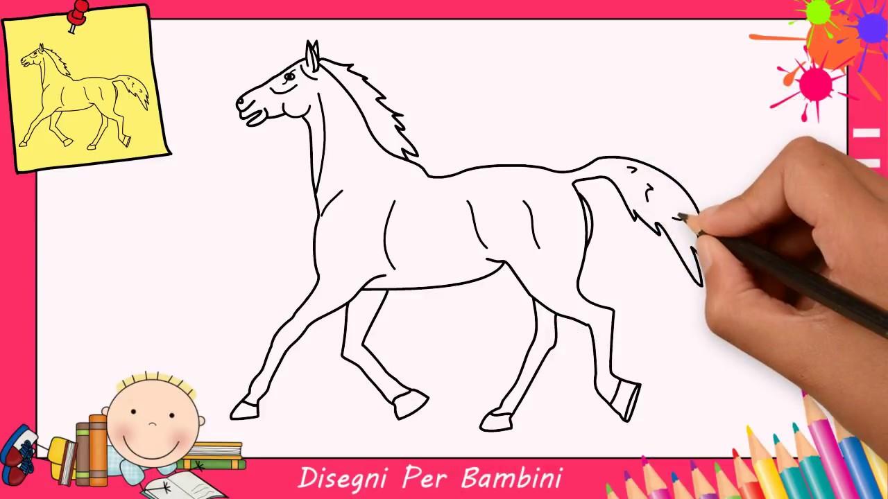 Disegni Di Cavalli Facili Per Bambini Come Disegnare Un Cavallo