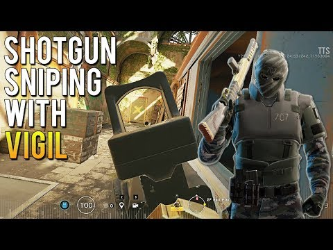 Sniping With Vigil's Shotgun - NEW Operation White Noise Operators Gameplay TTS | Rainbow Six Siege