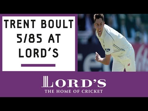 Trent Boult takes 5/85 against England at Lord's | Honours Board Legends