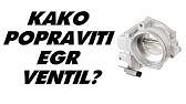 Mercedes diesel EGR valve removal - YouTube