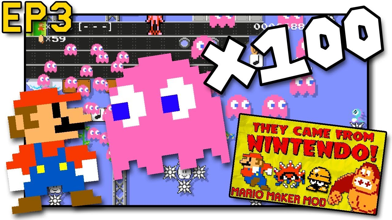 Modded 100 Mario Challenge - Super Mario Maker - TCFN EP 3