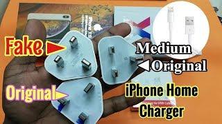 Original VS Fake apple iPhone Charger identify | Hindi