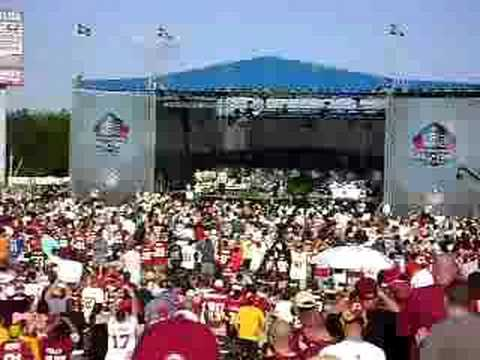 Darrell Green - Hall of Fame Intro