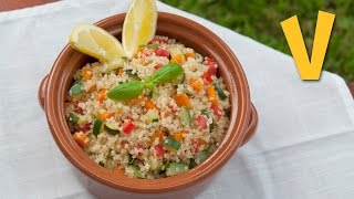Quinoa Salad | The Vegan Corner