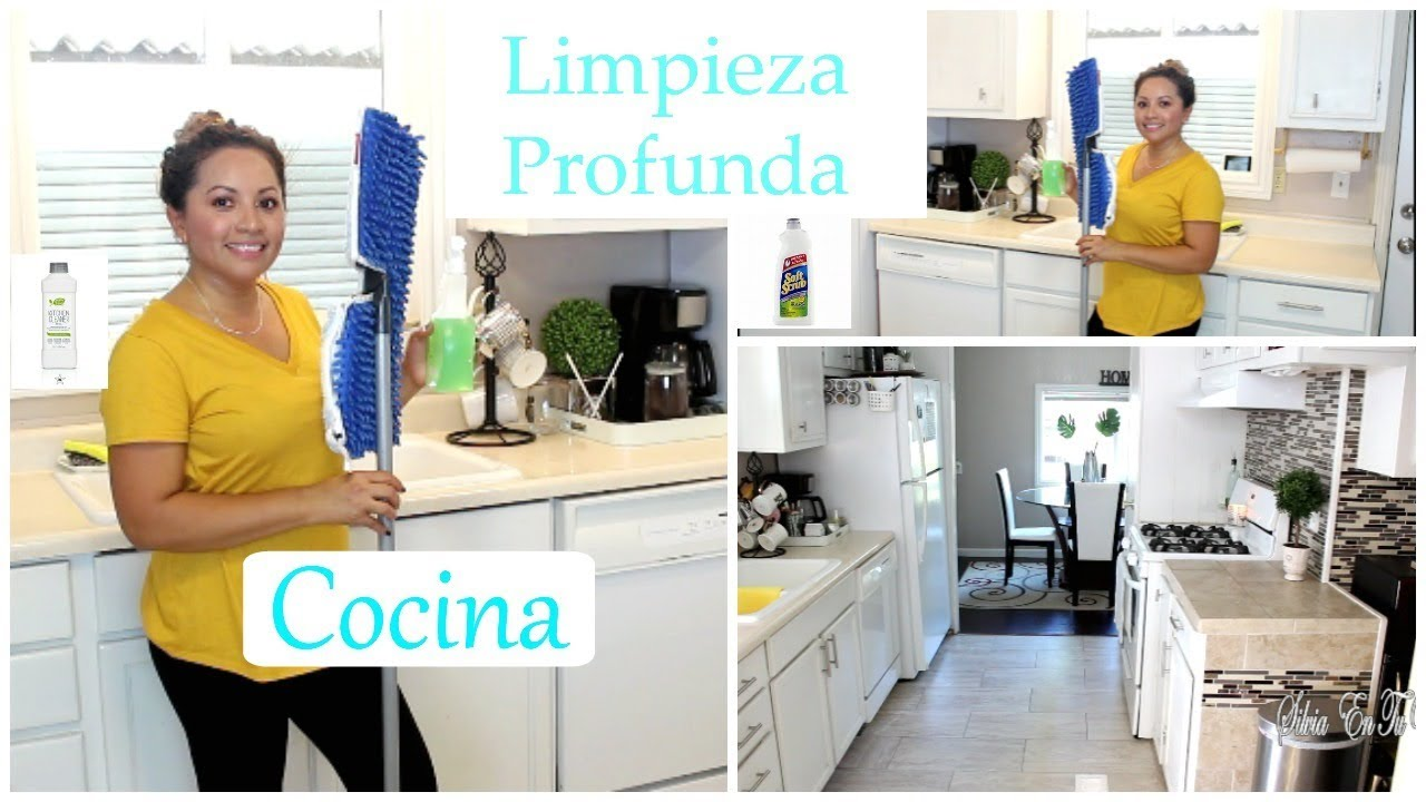 Limpieza profunda de cocina videos de limpieza silvia - Youtube videos de cocina ...