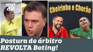 """É BURRO!"" Árbitro zoa Palmeiras e Flamengo e REVOLTA Mauro Beting!"