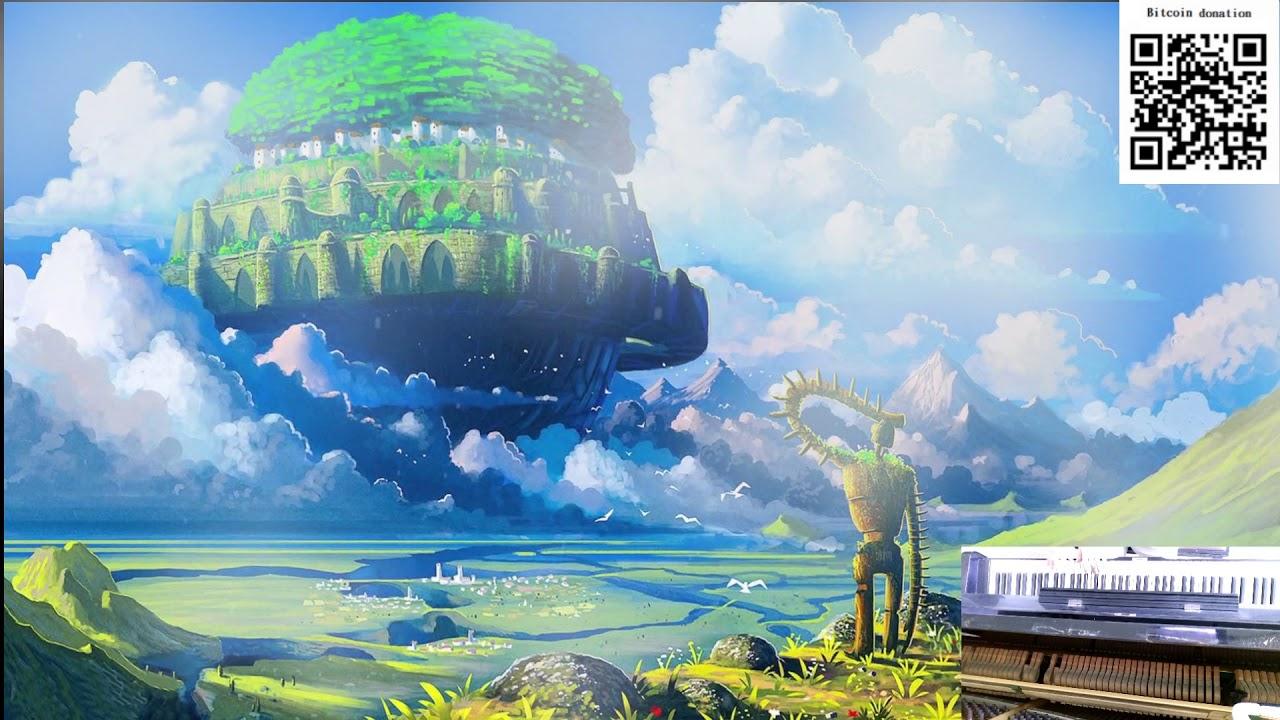 Воздушный замок лапута картинки