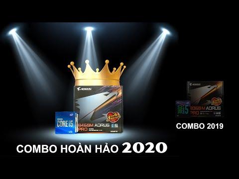 Core i5 10500 + GIGABYTE B460M AORUS PRO - COMBO CHO PC GAMING 20 TRIỆU DÀNH RIÊNG FAN CỦA AORUS