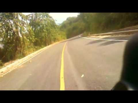 Crusing in Nan Province Thailand on Triumph Speed Triple 1050