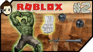 ROBLOX INDONESIA   HULUK SUPER STRONG