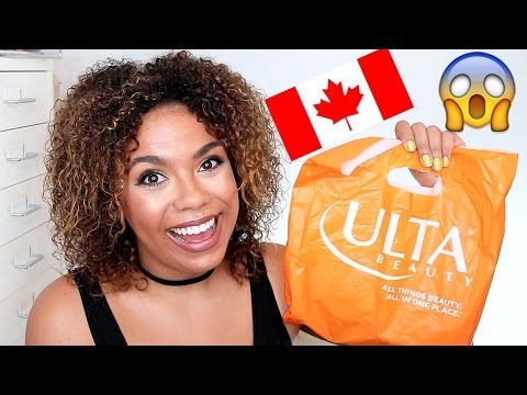 Ulta Ships to Canada?! What to buy! | samantha jane