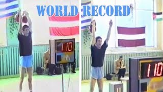 Yuriy Petrenko sets two world records in kettlebell sport (Ukraine, 1998)