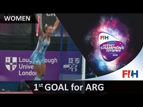 ARG 1-0 NZL Argentina take the lead as they score from their PC thanks to Habif #HCT2016