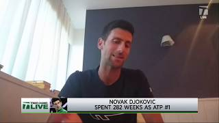 Tennis Channel Live: Djokovic Not Ruling Out Us Open, Has To See How Regulations Turn Out
